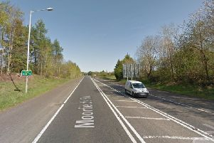 Signs have gone up advising motorists that the A36 between Ballymena and Larne will be closed from March 12 for eight weeks.  Picture: Google Maps