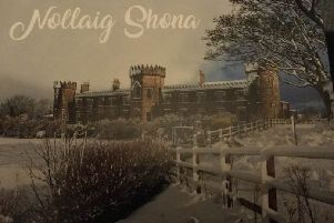 The Christmas card sent out by Sinn Fein Mayor Brenda Chivers
