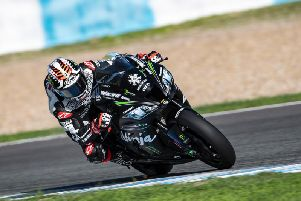 Jonathan Rea topped the times at the winter test at Jerez in Spain in November.