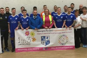 Newington Rangers selected 1 in 3 Cancer Support as their new charity partner.
