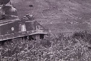 NI Horse fought alongside Canadian Troops at the Battle of Monte Cassino as they launched an assault on the Hitler Line