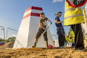 Urban Beach opening at the People's Park on July 6.