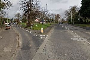 The Doagh Road/Shore Road junction. Pic by Google.