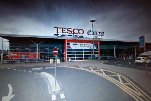 The Tesco store in Carrickfergus. Pic by Google.
