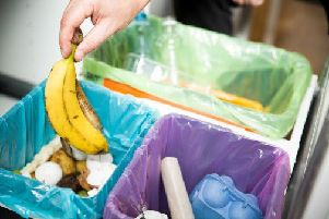 Less food waste was mixed with rubbish, meaning residents are better utilising their brown bins.