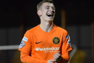 Stewart Nixon has left Carrick Rangers to join Coleraine. Pic by Pacemaker.