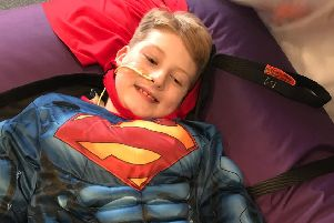 The coffee morning in Noah's memory will have a superhero theme.