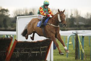 Lil Rockerfeller and Trevor Whelan win the Grade 2 National Spirit Hurdle at Fontwell. Picture: Clive Bennett/polopictures.co.uk