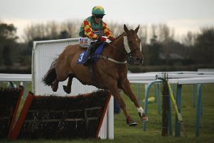 Lil Rockerfeller and Trevor Whelan on their way to glory in the National Spirit Hurdle at Fontwell last month. Picture: Clive Bennett/polopictures.co.uk