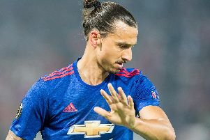 Zlatan Ibrahimovich'Picture by Shutterstock