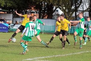 Pagham put the pressure on at Chi City / Picture by Roger Smith