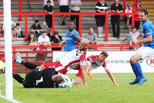 First-half action from Broadhall Way