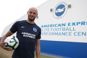 David Button has been signed by the Albion. Picture credit: Paul Hazlewood/BHAFC