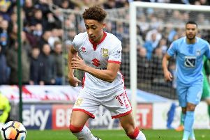 Pompey target Marcus Tavernier on loan at MK Dons last season