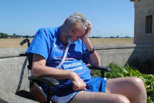 Phil Rossall, who will take part in this year's Great South Run