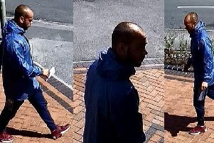 Police want to speak to this man after a woman was conned out of 500 in Fareham