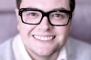 Alan Carr. Picture by Andy Hollingworth