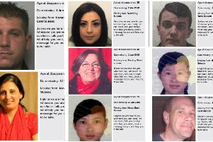 Just eight of the missing people from Sussex