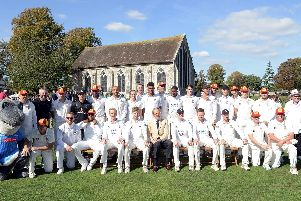 Sussex CCC sent a full squad to Chichester in September to celebrate the 100th anniversary of Priory Park being given to the city by the Duke of Richmond - it was a great day for cricket fans / Picture by Kate Shemilt