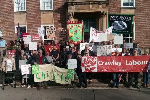 Housing support cuts protest in October