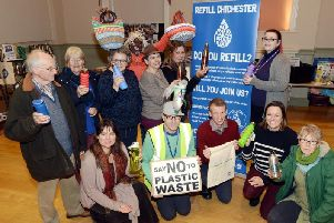 Campaigners at the launch of the scheme in the Assembly Room