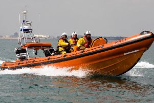 A lifeboat was launched to a paddleboarder at West Wittering