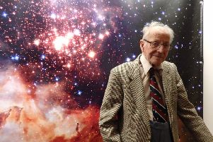 Jimmy Birchal at the South Downs Planetarium