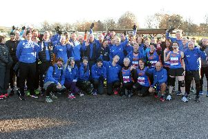 Tone Zone at the Priory 10k / Picture by Derek Martin