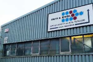 SJ engineering site in Terminus Industrial Estate, Leigh Road