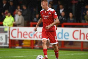 Josh Yowerth in his Crawley Town days