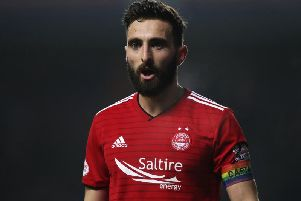 Graeme Shinnie of Aberdeen (Photo by Ian MacNicol/Getty Images)