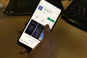 Forces Connect app, which helps members of the armed forces community in West Sussex and the south east access support