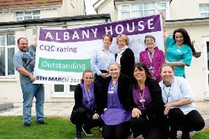 ks190128-1 Albany House Bognor  phot kate'Pippa Solan, owner, centre back, and the team at Albany House delighted with their Outstanding Ofsted rating.ks190128-1 SUS-191203-195522008