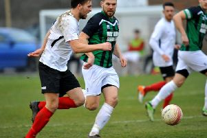 Pagham in recent SCFL action at Horsham YMCA / Picture by Steve Robards