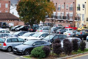ks16001181-1 Chi Car Parks  phot kate'New Park Road car park.ks16001181-1 SUS-160811-192127008