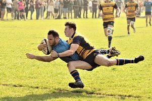 Chichester do battle with Cobham at Oaklands Park / Picture by Michael Clayden