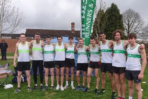 Chichester's combined men's A and B teams / Picture supplied by Chi Runners