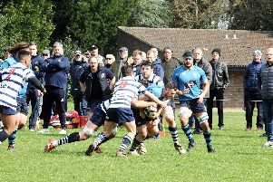 Chichester take on Westcombe Park at Oaklands Park / Picture by Kate Shemilt