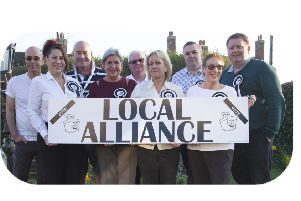 Local Alliance members in Selsey
