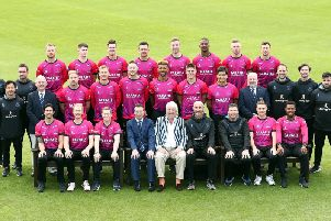 The Sussex squad ready for One Day Cup action / Picture by Getty Images