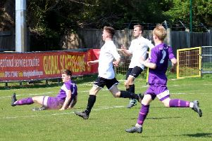 Pagham v East Preston action / Picture by Roger Smith