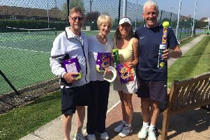 The winners at the Bognor fun day