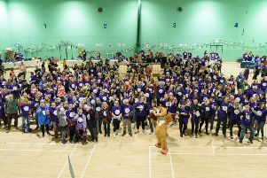 Hundreds take on St Wilfrid's 2019 Moonlight Walk
