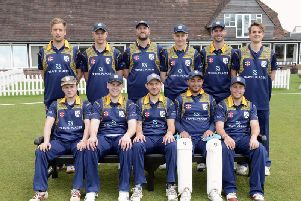 Middleton in their new coloured shirts for the 2019 season / Picture by Kate Shemilt