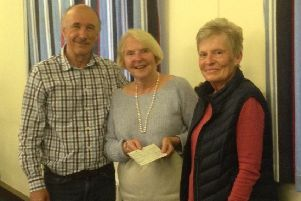 Margaret with club members