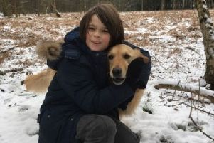 Ben Walker, 11, whose life was saved by an anonymous blood stem cell donor