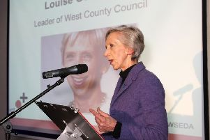 County council leader Louise Goldsmith