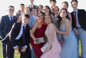 Bourne Community College students at the Year 11 prom