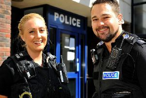 PC Alice Price and PC Shaun Moreland