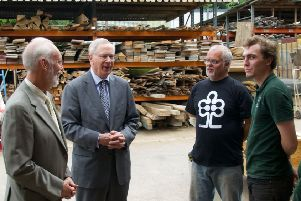 The Duke of Gloucester visits the Aldingbourne Country Centre